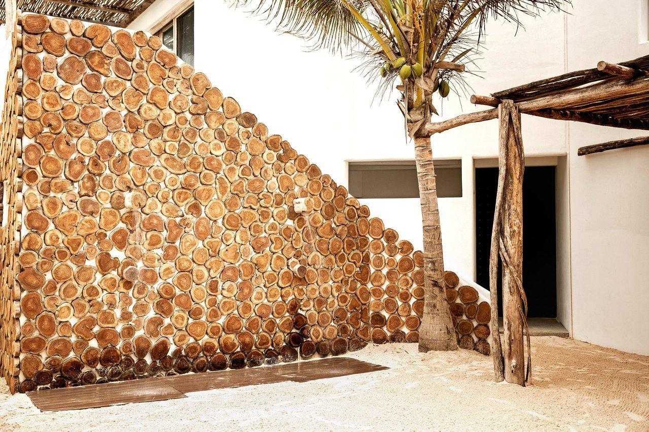 Exterior, Stucco Siding Material, and Wood Siding Material  Casa Malca