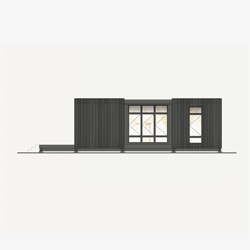 A Kit Home Purveyor Starts by Designing His Own Danish-Inspired Prefab in Michigan