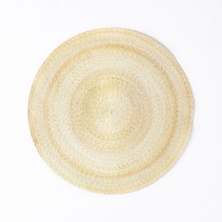 MINNA Round Natural Palm Rug