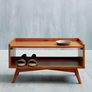 West Elm Mid-Century Shoe Rack