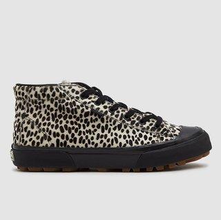 Vans OG G.I. LX Pony Hair Sneaker - Snow Leopard