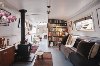 Sail Away in This Dreamy London Houseboat For $211K