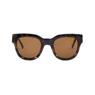 Sun Buddies Liv Sunglasses in Purple Blonde Tortoise