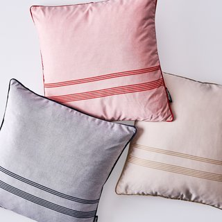 Basil Bangs Outdoor Weatherproof Throw Cushions