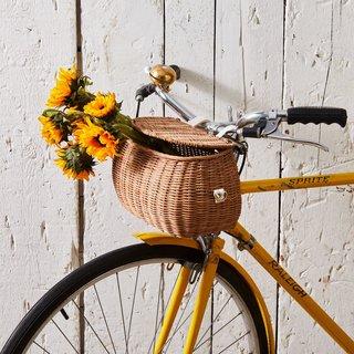 Olli Ella Rattan Bike Basket
