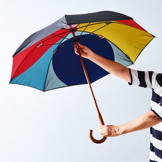 Basil Bangs Maple Rain Umbrella