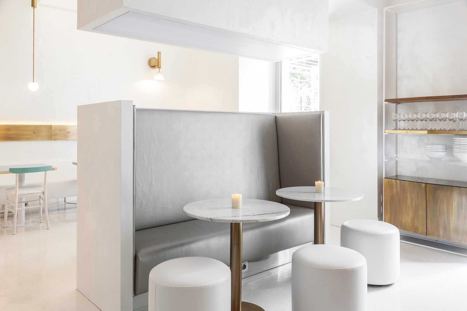 Dining Room, Chair, Pendant Lighting, Table, Wall Lighting, and Bench  Senato Hotel Milano
