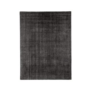 Ben Soleimani Charcoal Distressed Wool Rug
