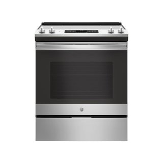 "GE 30"" Slide-In Electric Range"