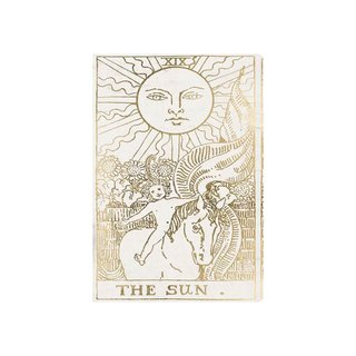 The Sun Tarot Luxe Graphic Art on Wrapped Canvas
