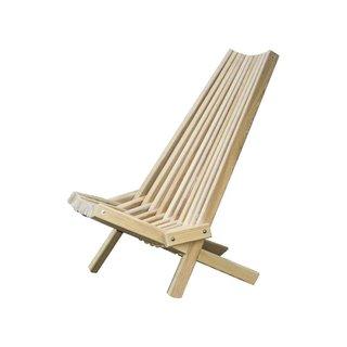 Hershy Way Solid Wood Folding Adirondack Chair