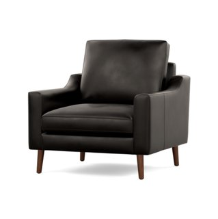 Burrow Leather Nomad Club Chair