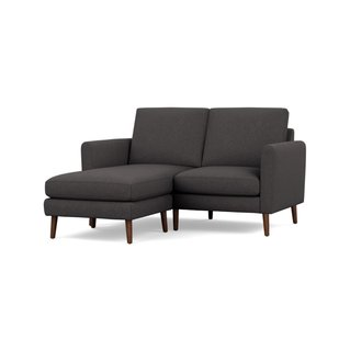 Burrow Nomad Charcoal Sofa Sectional