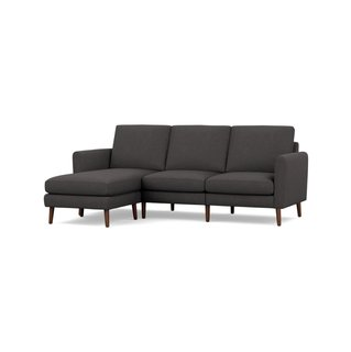 Burrow Nomad Charcoal High Arms Sofa Sectional