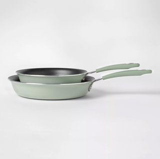 Cravings by Chrissy Teigen Aluminum Frying Pan Set - Set of 2