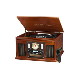 Victrola Nostalgic Aviator Wood Turntable