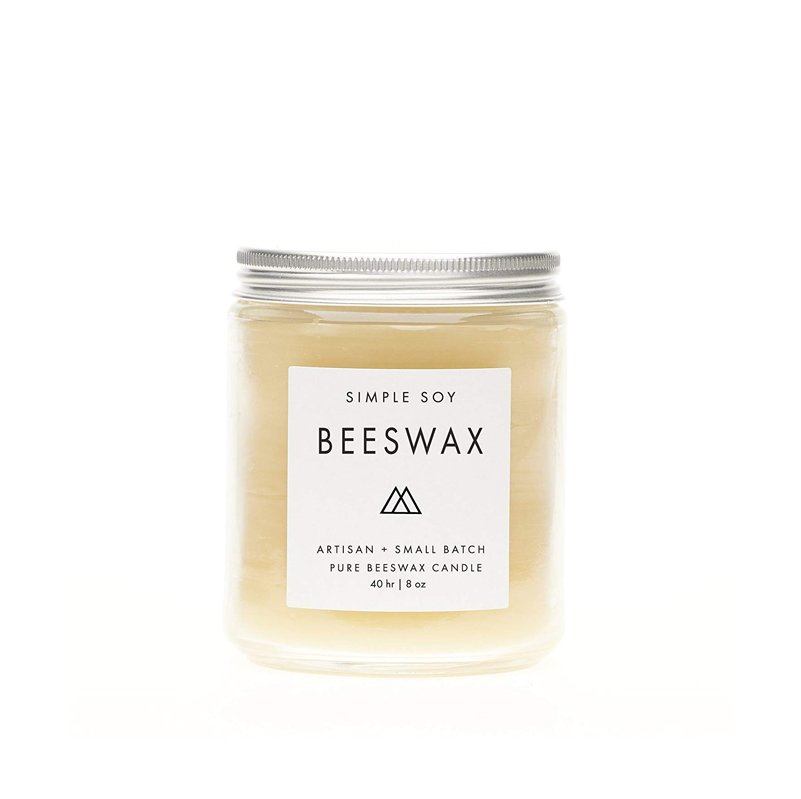 Simple Soy Beeswax Candle