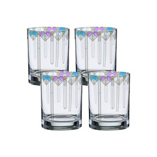 Frank Lloyd Wright Double Old Fashioned Glasses - Set of 4
