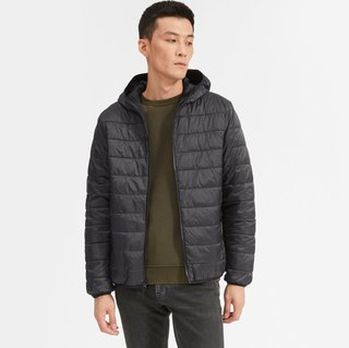 Everlane ReNew Lightweight Hooded Puffer