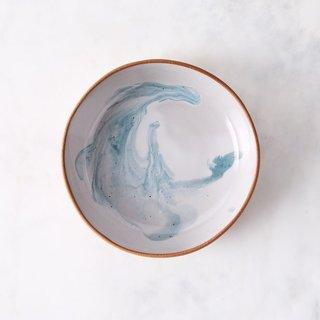 Helen Levi Ceramics Ocean Shallow Bowl