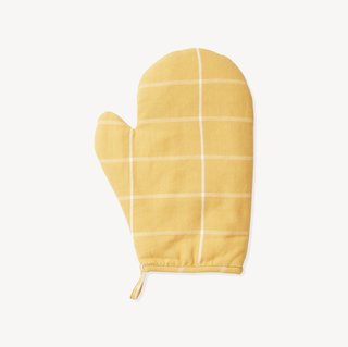 MINNA Grid Oven Mitt - Gold