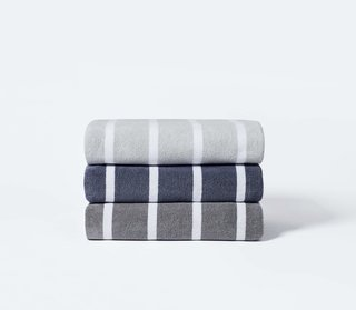 Snowe Beach Towel - Shady Stripe