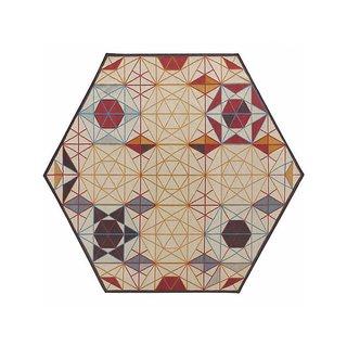 GAN Hexa Hexagonal Rug