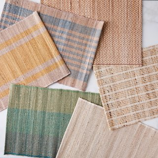 Sustainable Threads Handwoven Banana Leaf Placemats (Set of 4)