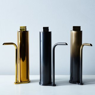 Gentner Design Brass Oil Decanter