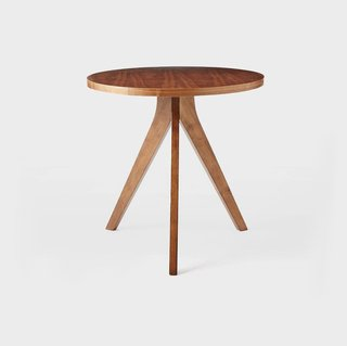 West Elm Tripod Dining Table - Walnut