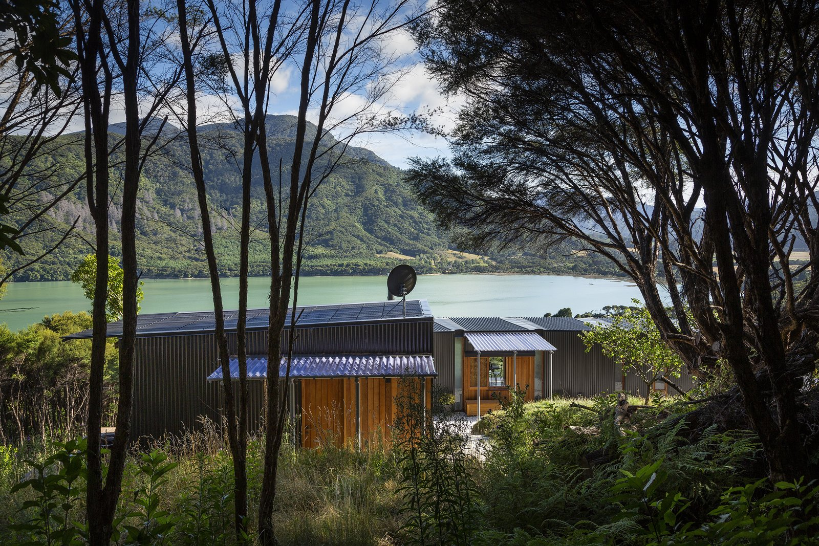 This Prefab Home in New Zealand Makes the Most of Stunning Views While Sitting Lightly on the Land
