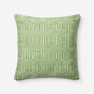 Lulu & Georgia Anissa Indoor/Outdoor Pillow, Green