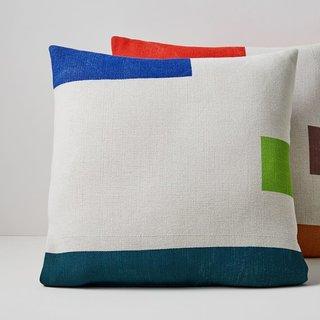 West Elm Outdoor Color Block Pillows