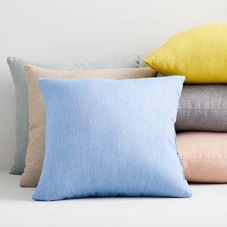 Sunbrella Solid Indoor/Outdoor Cast Pillows