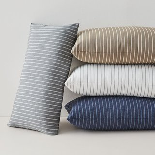 Sunbrella Indoor/Outdoor Striped Lumbar Pillows
