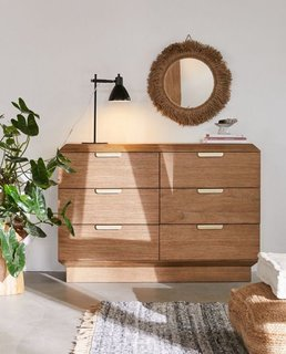 Urban Outfitters Finley 6-Drawer Dresser