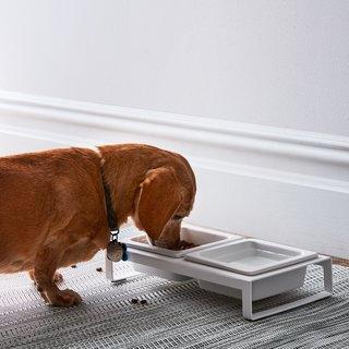 Yamazaki Modern Pet Bowl Stand