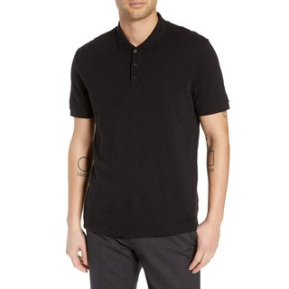 Vince Slub Slim Fit Polo Shirt