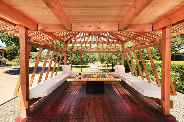 Sip Wine in This Japanese Pagoda-Inspired Pavilion