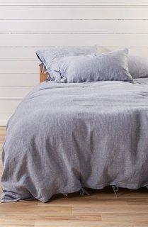 Treasure & Bond Relaxed Cotton & Linen Duvet Cover