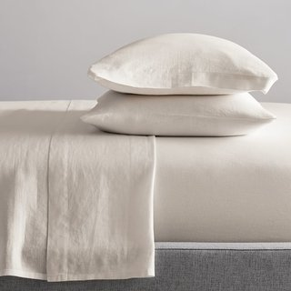 West Elm Belgian Flax Linen Sheet Set