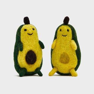 Ware of the Dog Avocado Stuffed Dog Toy - Set of 2