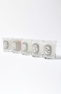 Diptyque Set of 5 Travel Size Candles