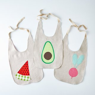 Dot and Army Fresh Produce Baby Bibs