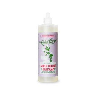 Rebel Green Super Deluxe Dish Soap, Lavender & Grapefruit