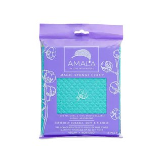 Amala Magic Sponge Cloth, 3-pack