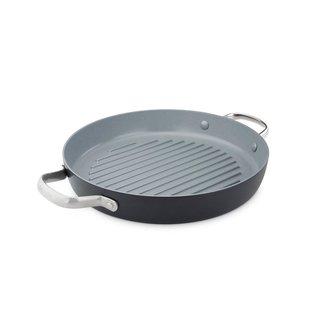 Greenpan Valencia Pro Ceramic Non-Stick Grill Pan, 11-Inch