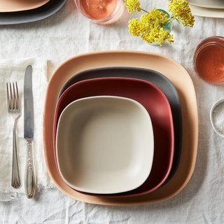 Ekobo Recycled Bamboo Palette Dinnerware (4-Piece Set)
