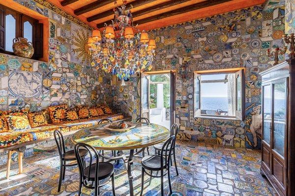 Dolce & Gabbana Part Ways With Their Vibrant Italian Villa on Stromboli Island