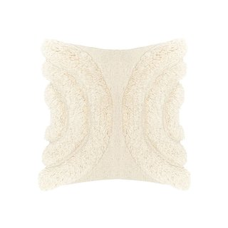 Lulu & Georgia Arches Throw Pillow in Natural